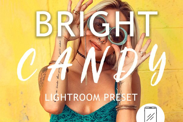Bright Candy Lightroom Mobile Prese…