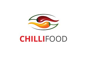 Chili Food Logo