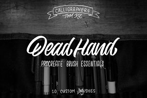 Dead Hand Procreate Brush Essentials