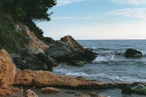 Coast of Cap Salou, Spain