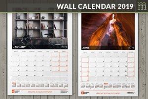 Wall Calendar 2019 (WC030-19)