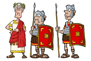 Ancient Roman characters