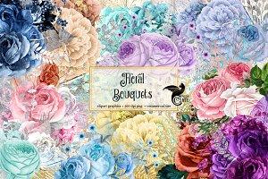 Floral Bouquets Clipart