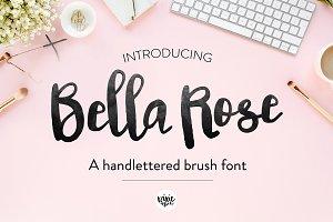 Bella Rose Brush Script Font