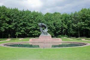 Chopin Statue, Warsaw, Poland