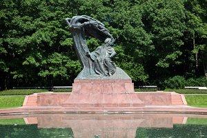 The Chopin Statue, Warsaw, Poland