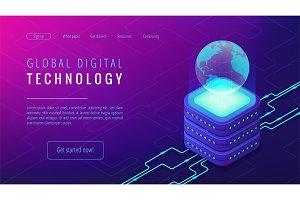 Isometric global digital technology