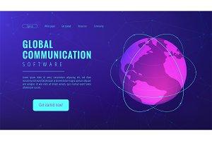 Isometric global communication