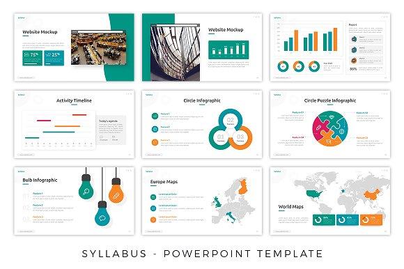 Syllabus - Education Presentation