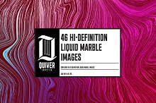 46 Abstract Marble Liquid Images