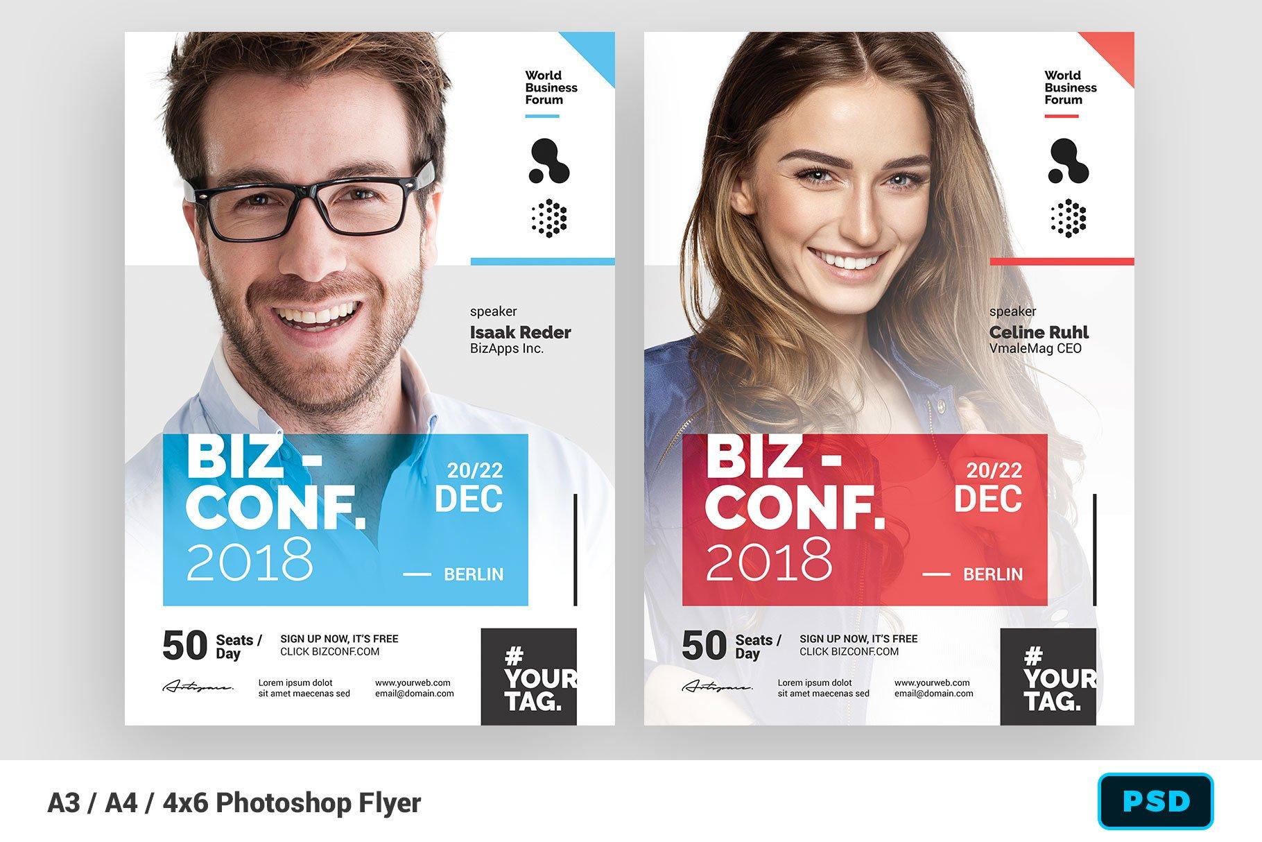 Seminar Flyer Template ~ Flyer Templates ~ Creative Market