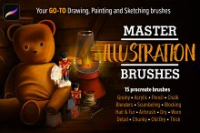 Master Illustration Brushes