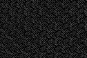 Black wicker texture vector pattern
