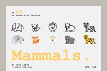 Mammals Icons by  in Icons