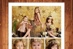 Photography Templates Photo Collage