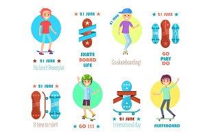 21 June, Skate Board Life, Go