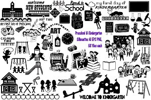 Preschool/Kindergarten AI EPS PNG