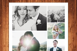 Wedding Templates Photo Collage