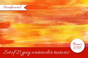 21 watercolor texture