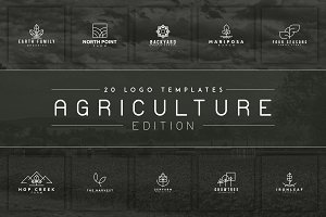 20 Logos (Agriculture Edition) -50%