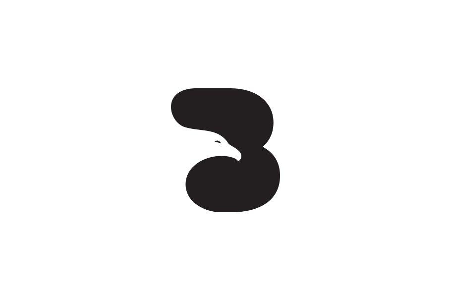 B Letter Bird Logo