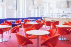 cafe in business office