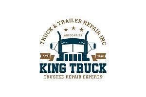 King Truck Logo Temp.