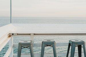Minimalism at the ocean