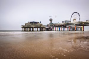 Pier in Scheveningen near Hague