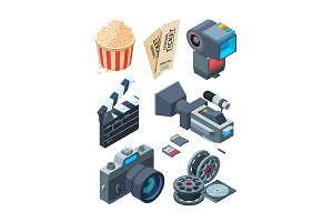 Isometric video cameras. Tools for