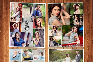 Photography Template Photo Set