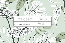 TROPIC, An elegant Vector Pattern! by  in Patterns