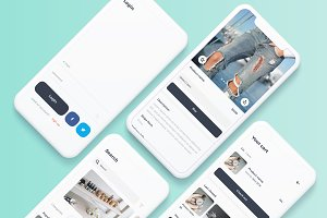 Shops - e commerce iOS UI Kit