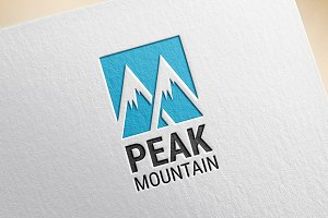 Peak Mountain Logo