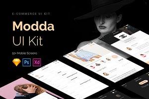 Modda Mobile UI Bundle- 60% off