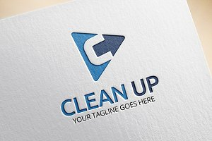 Clean Up - C Letter Logo