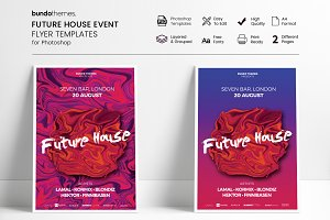 Future House Event Flyer