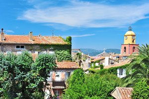 Landscape Saint-Tropez France