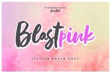 NEW FONT | Blastpink Script by  in Script Fonts