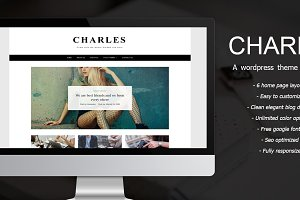 Charles - A WordPress Theme for Blog