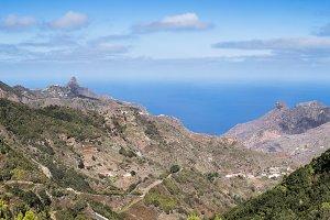 Anaga panorama in Tenerife
