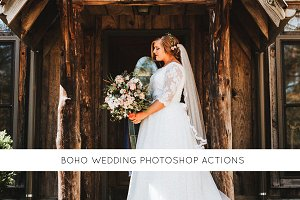 Boho Wedding Photoshop actions