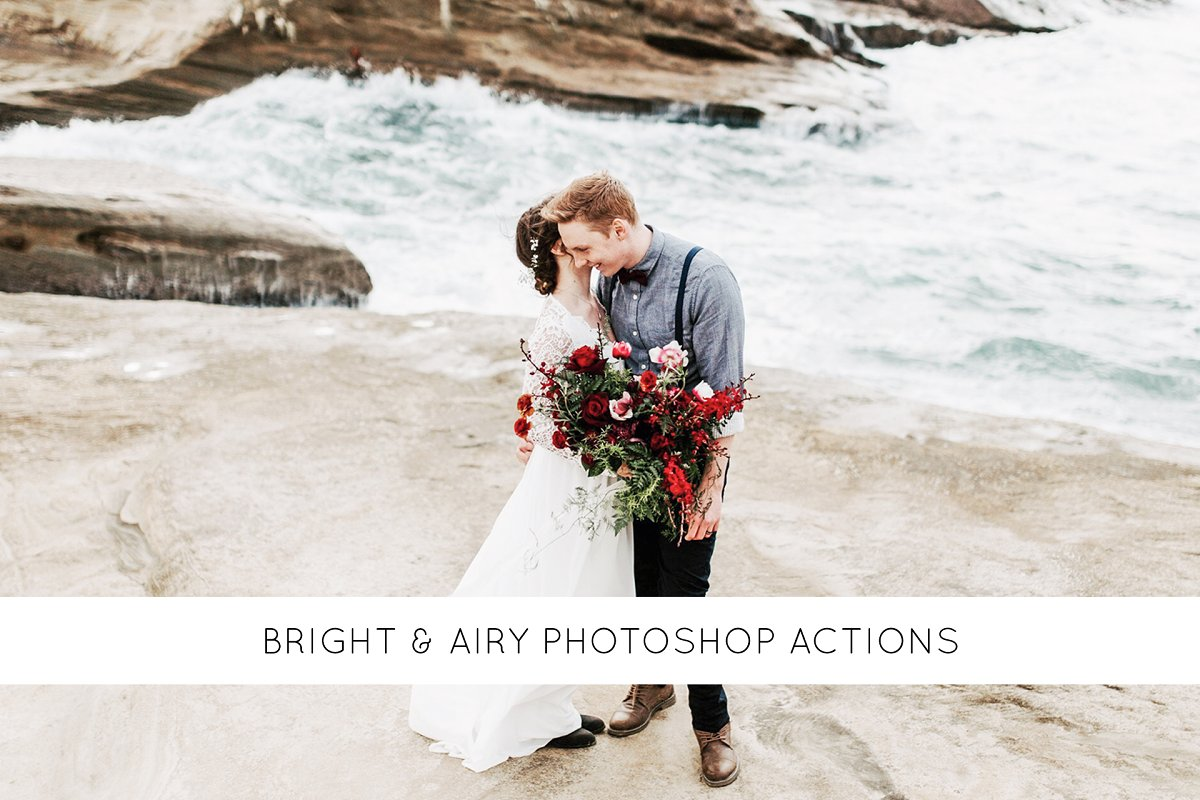 Bright & airy Photoshop actions ~ Photoshop Add-Ons