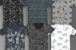 6 WILD T-Shirt Printed Designs!