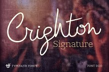Crighton + Lev Duo Font Pack *Sale*