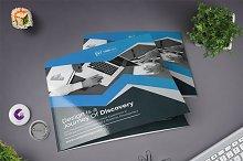 Clean Square Tri Fold Brochure