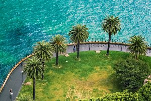 Seafront in Sydney, NSW, central coa
