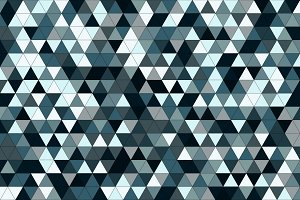 Blue triangle tiles texture, seamles