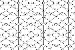 White triangle tiles texture, seamle