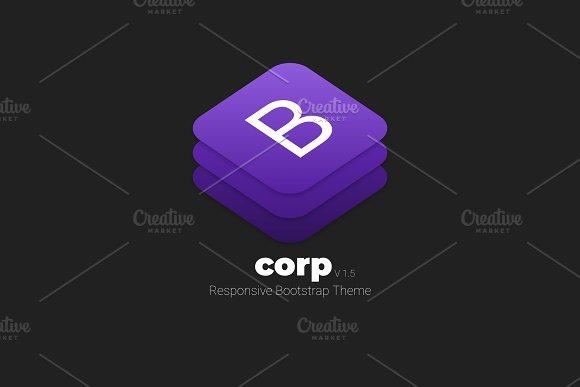 CORP - Responsive Bootstrap Theme